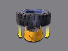 Continental ADAPTER CSEASY 150/75-8 180/70-8